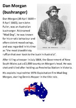 Dan Morgan (bushranger) Handout