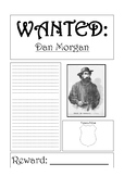 Dan Morgan (bushranger) Wanted Poster Template