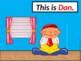 Dan (an word family ebook)