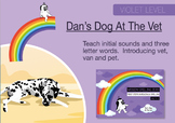 5. NEW Dan's Dog At The Vet: Mission Spelling Zero Teaches Phonics And Spelling