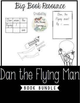 Dan the Flying Man Activity Resource Bundle
