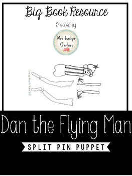 Dan the Flying Man Puppet