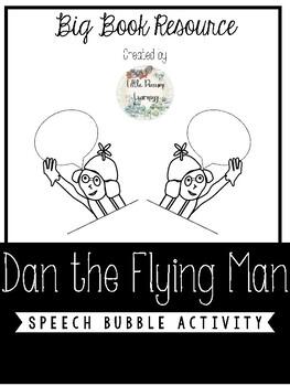 Dan the Flying Man Speech Bubble