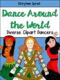 Dance & Culture Clipart: Diverse People Dancing