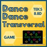Dance Dance Transversal - PowerPoint Game
