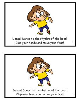 Dance! Dance to the Rhythm of the Beat! (-eat family reader)