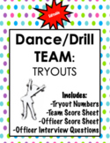 Dance/Drill Team: Tryout Package