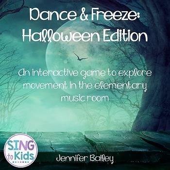 Dance & Freeze: Halloween Edition