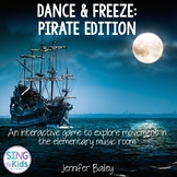 Dance & Freeze: Pirate Edition