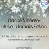 Dance & Freeze: Winter Animals Edition