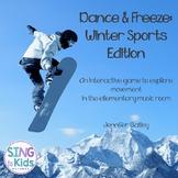 Dance & Freeze: Winter Sports Edition