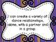 Dance Grade 4 -Saskatchewan