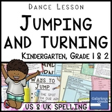 Dance Lesson - Jumping and Turning