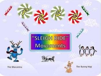 "Dance Movements: FREE: ""Sleigh Ride"": Macarena & Bunny Hop"