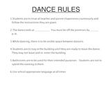 Dance Rules