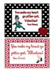 Dance Themed Valentine's Day Cards