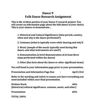 Beginner Dance Unit Bundle
