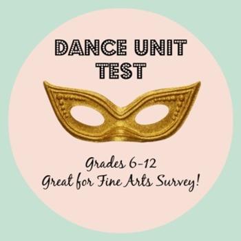 Dance Unit Test