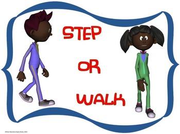 Dance Word Wall Display: Activity, Graphics & Key Dance Movement Terms