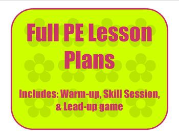 Dance activity and Net activity Full Lesson Plan
