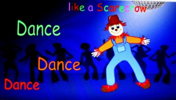 Dance like a Scarecrow (A fun brain break for October)