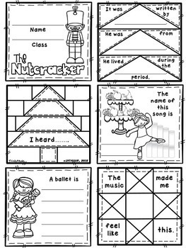 Dance of the Reed Pipes (from Nutcracker) Quilt Worksheets