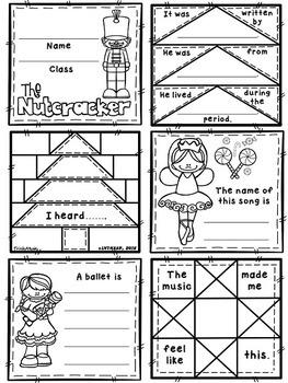 Dance of the Sugar Plum Fairy (from Nutcracker) Quilt Worksheet