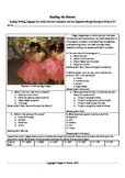 """Intervention & Test Prep with """"Dancers in Pink"""" by Edgar Degas"""