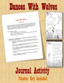 Dances With Wolves Journal Activity
