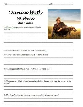 Dances With Wolves Study Guide