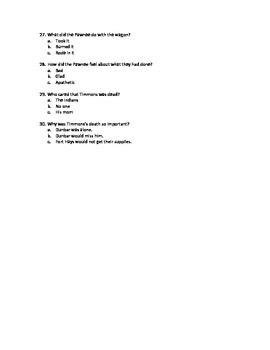 Dances with Wolves Advanced Chapter MC Tests