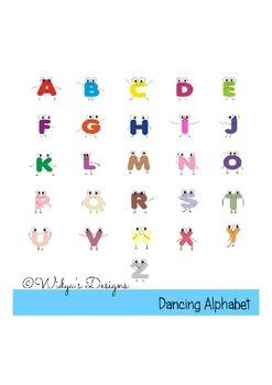 Dancing Alphabet