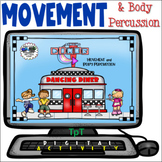 Dancing Diner - Distance Learning - Easel Activity