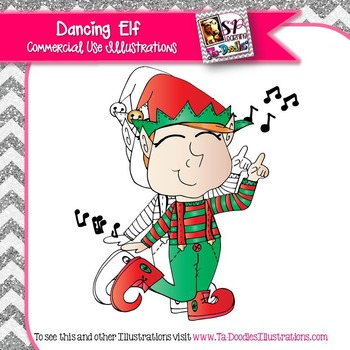 Dancing Elf FREEBIE