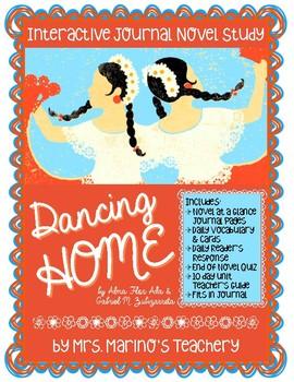 Dancing Home Interactive Journal Novel Study