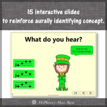St. Patrick's Day Music: Do Mi Sol Interactive Melody Game {Dancing Leprechaun}