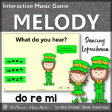 St. Patrick's Day Music: Do Re Mi Interactive Melody Game {Dancing Leprechaun}