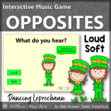St. Patrick's Day Music: Loud Soft Interactive Music Game {Dancing Leprechaun}