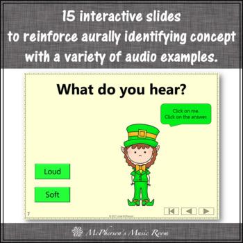 St. Patrick's Day Music: Loud Soft Interactive Music Game {Dancing Leprechaun}