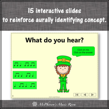 St. Patrick's Day Music: Eighth Notes Interactive Rhythm Game Dancing Leprechaun