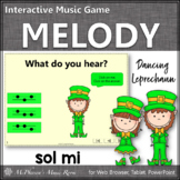 St. Patrick's Day Music: Sol Mi Interactive Melody Game {Dancing Leprechaun}