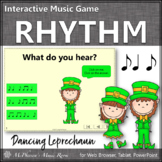St. Patrick's Day Music: Syncopa Interactive Rhythm Game {Dancing Leprechaun}