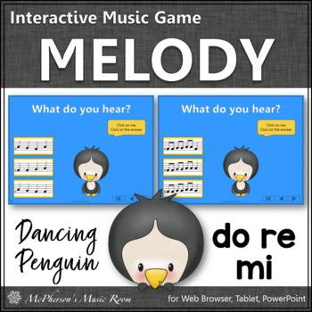 Dancing Penguin {Solfa Do Re Mi} Interactive Music Game