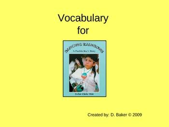 Dancing Rainbows Vocabulary Houghton Mifflin Series