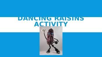 Dancing Raisins Inquiry Activity Part 1