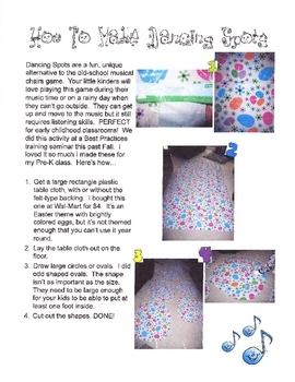 Dancing Spots - How to Make 'Em & How to Play with 'Em!