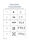 Dancing Stickmen Numeracy Matching Kit