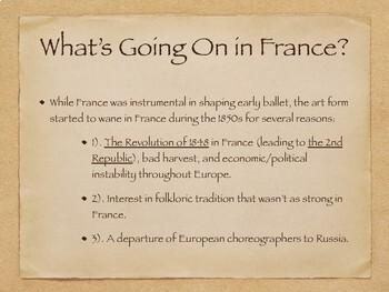 Dancing Through History: Russian Classical Ballet
