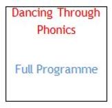 Dancing Through Phonics - Full Programme