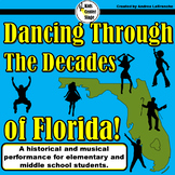 Florida Decades script for single class or large group mus